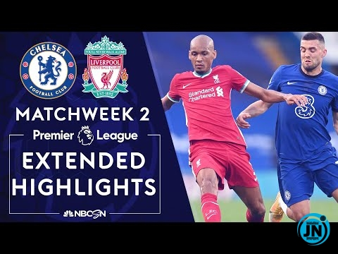 Chelsea Vs Liverpool - Premier League Highlights